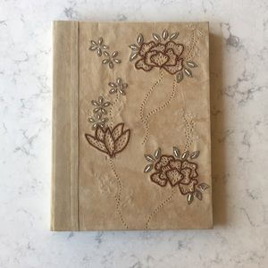 Anthropologie Vintage Suede Album/Scrapbook NWT